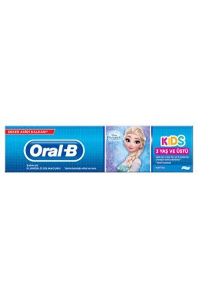 Oral-B Oral B Frozen Çocuk Diş Macunu 75 Ml 3 Yaş Ve Üstü