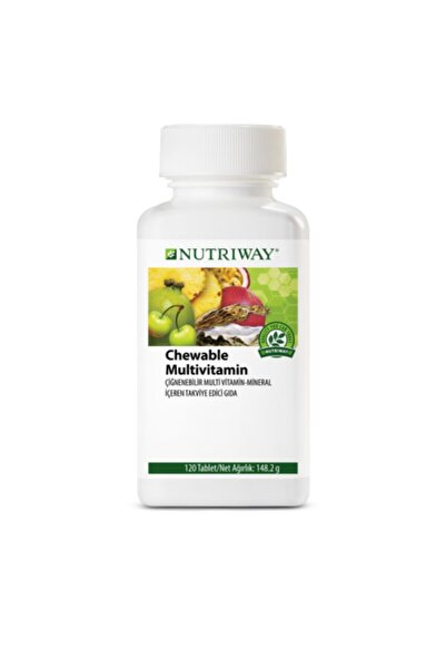 Amway Chewable Multivitamin Nutrıway™ Birim: Kutu (120 Tablet)