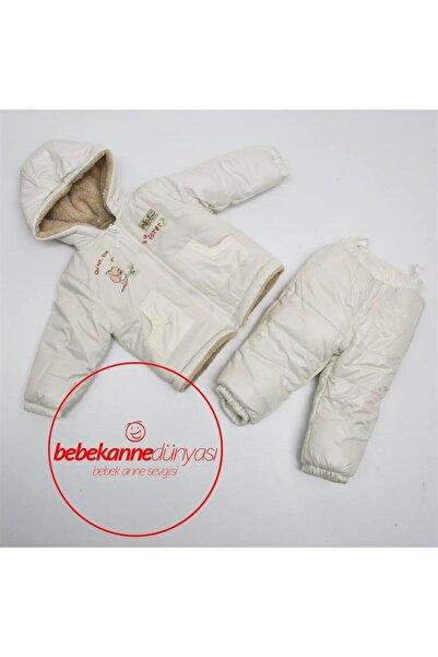 Bebessi Bebesi Baby Yağmur Gecirmez Mont Takım Kürklü B602
