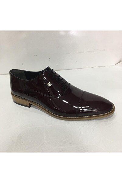 HCS Erkek Bordo Klasik Şık Ayakkabı