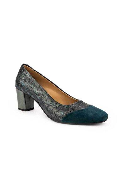 Emel Ayakkabı Modern Tazr Şık Günlük Parçalı Ayakkabı
