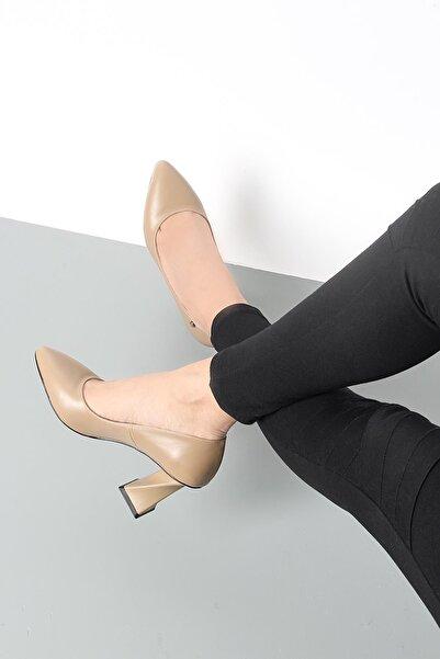 Gökhan Talay Kadın Vizon Topuklu Ayakkabı