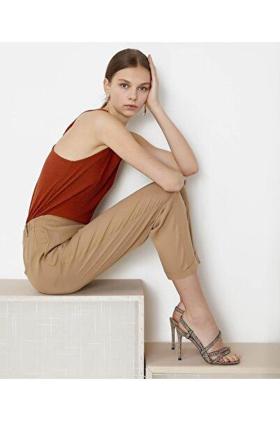 İpekyol Kadın Turuncu Sırt Detaylı Bluz IS1200070235054