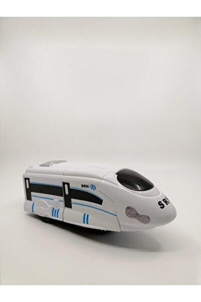 Duman Oyuncak Pilli Robot Olanhızlı Tren
