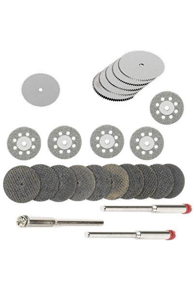 Depolife Mini Vız Vız Için Kesici Mini Disk Seti Ahşap Metal Cam Fayans Kesme Elmas Hss Fiberglas Kesici Set