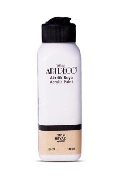 Artdeco Beyaz Akrilik Boya 140 ml 3619