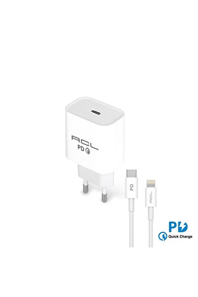 casemarkt Apple Yeni Nesil Type-c To Lightning Iphone & Ipad Pd Quick Charge 3a Duvar Şarj Aleti