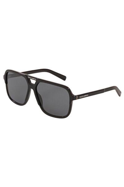 Dolce Gabbana Erkek Siyah Polarize Güneş Gözlüğü