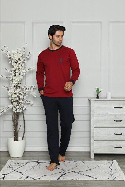 Manolya Royal Bordo Renk Erkek Pijama Takımı