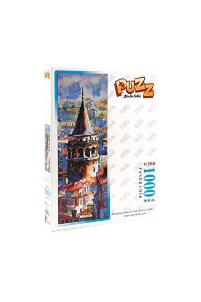 KESKİN COLOR Puzzle 1000 Parça 34x96cm Panoramik Galata 260603-99