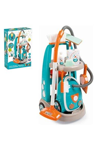 Simba Smoby Elektrikli Süpürgeli Temizlik Seti 330309