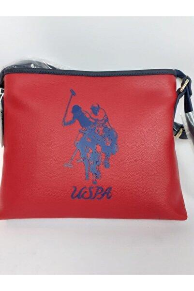 U.S. Polo Assn. Kadın Kırmızı Çanta