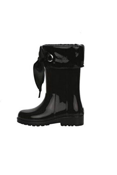 Campera Charol Yağmur Çizmesi - Siyah