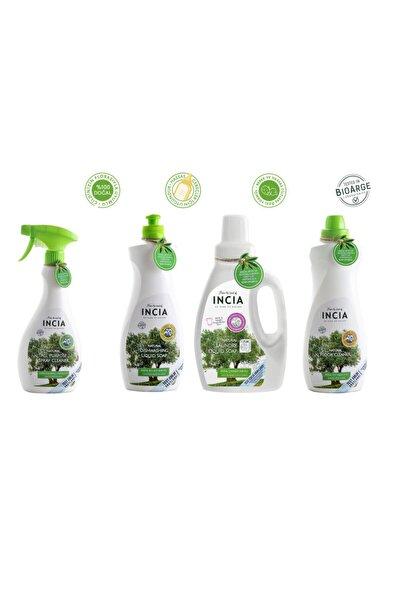 Incia Incıa Doğal Temizlik Seti ( Çamaşır & Bulaşık & Yer Temizleyici & Çok Amaçlı Temizleyici )