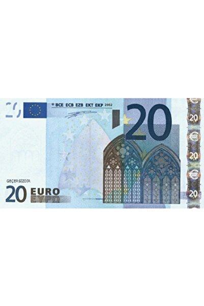 rennway 100 Adet 20 Euro Sahte Şaka Düğün Parası