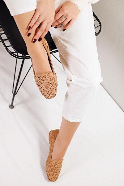 Limoya Kadın Taba  Ayakkabı