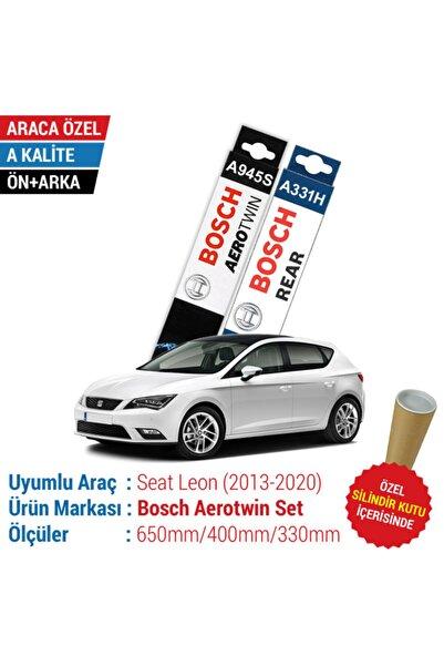 Bosch Seat Leon Ön Arka Silecek Takımı (2013-2020) Aerotwin