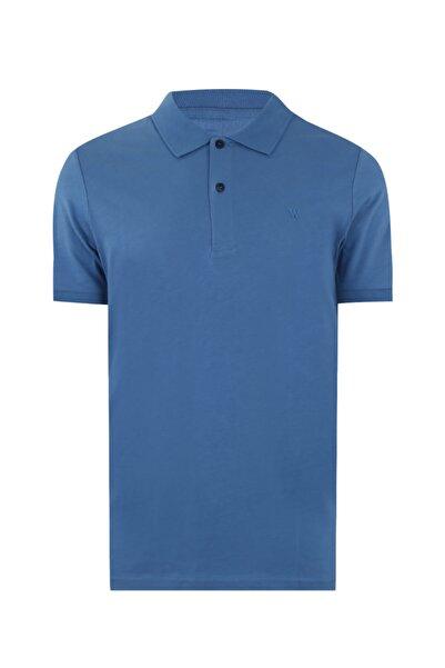 W Collection Erkek Lacivert Polo Yaka T-shirt