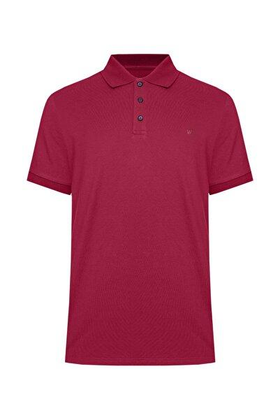 W Collection Erkek Kırmızı Polo Yaka T-Shırt