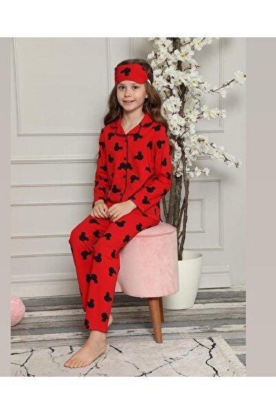 Blueberry Çocuk Kırmızı  Pijama