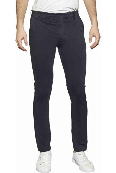 Calvin Klein Erkek Siyah Slim Chıno Stretch Pantolon