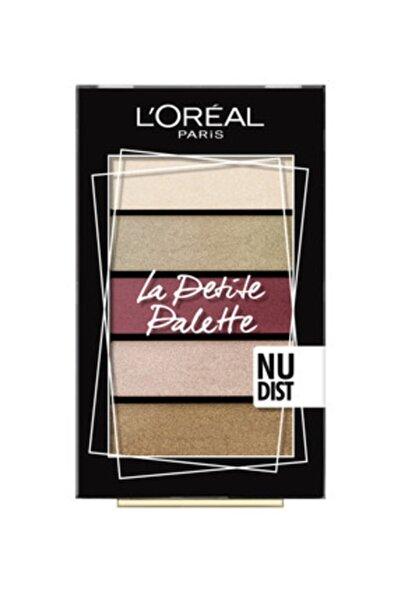 L'Oreal Paris La Petite Palette Nudist Göz Farı Paleti - 3600523556021