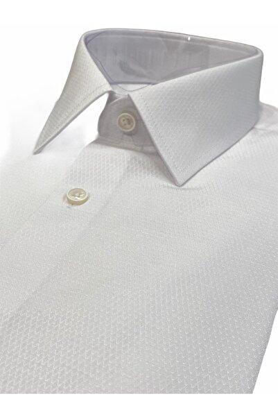 CCS Sarar Erkek Beyaz Uzun Kollu Gömlek