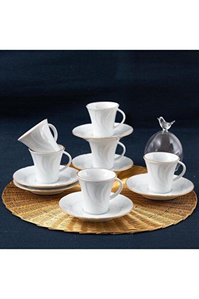 Güral Porselen Güral Soprano Türk Kahvesi Takımı