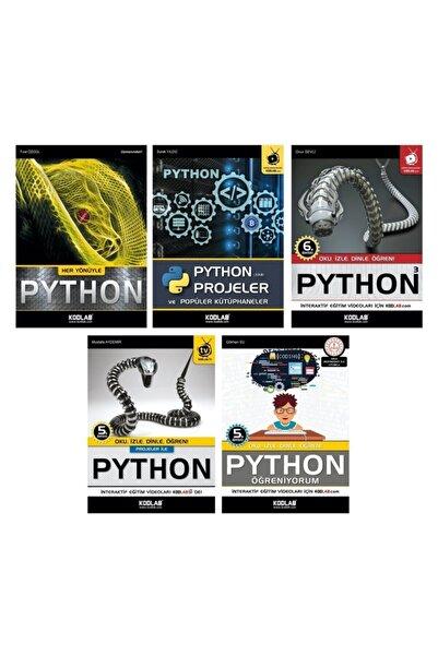 Kodlab Yayın Dağıtım Süper Python Seti 2 (5 Kitap Takım)