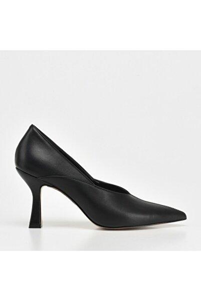 Hotiç Kadın Siyah Stiletto Ayakkabı