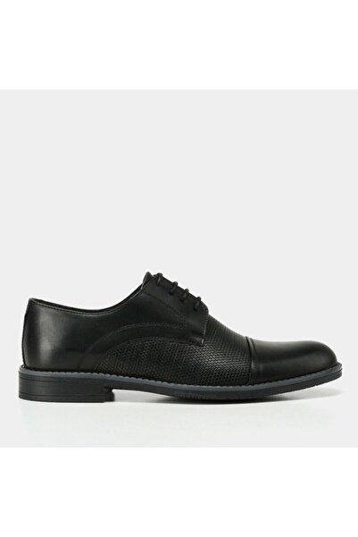 Hotiç Erkek Siyah Deri Yaya Günlük Ayakkabı