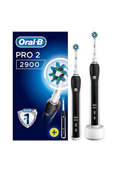 Oral-B Pro 2900 Şarj Edilebilir Diş Fırçası Siyah 2'li Avant