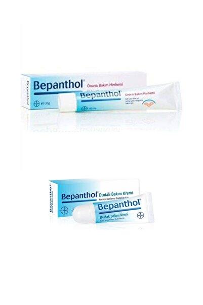 Bepanthol Onarıcı Bakım Merhemi 30 gr Dudak Kremi 7,5 ml