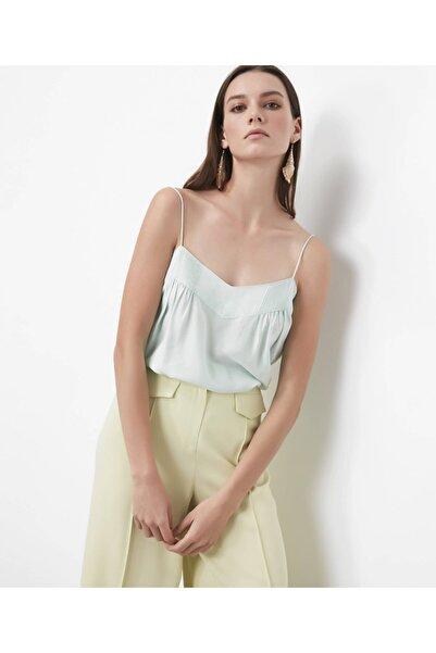 İpekyol Kadın Su Yeşili İp Askılı Bluz