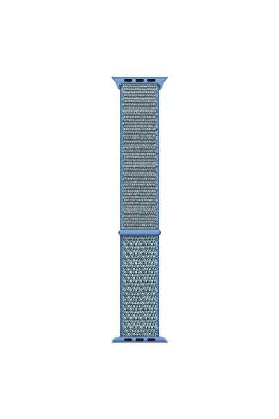 Microsonic Microsonic Watch Series 6 44mm Hasırlı Kordon Woven Sport Loop Mavi