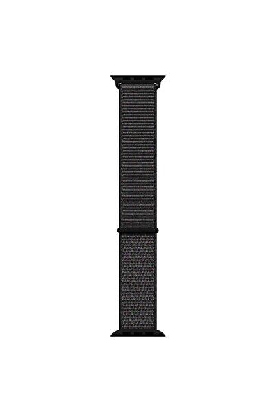 Microsonic Microsonic Watch Series 6 40mm Hasırlı Kordon Woven Sport Loop Siyah