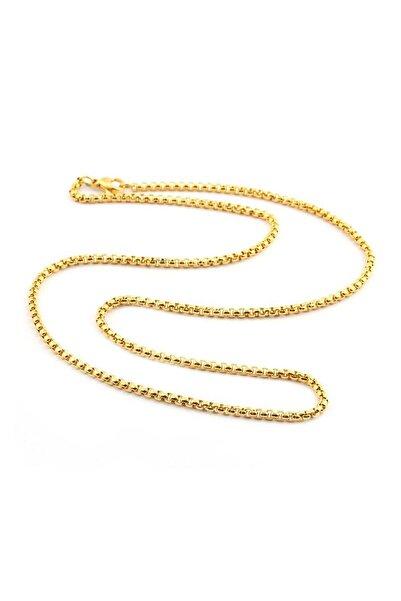 Welch Kadın Sarı Çelik Kolye 6211-1236