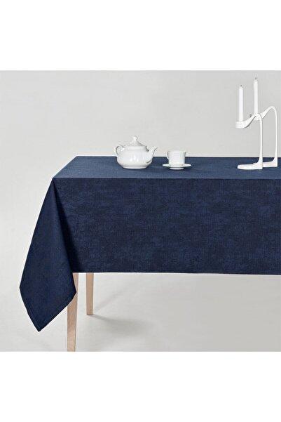 DENIZLI CONCEPT Lacivert Milano Masa Örtüsü 100x100 cm