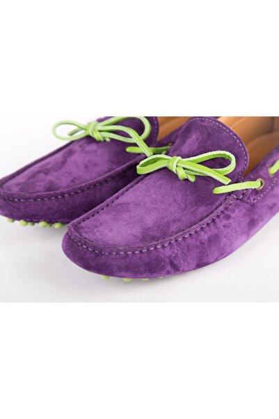 ETRO Erkek Mor Loafer Ayakkabı