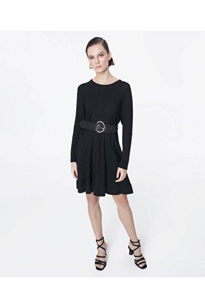 İpekyol Kadın Siyah Triko Elbise IS1200050076001