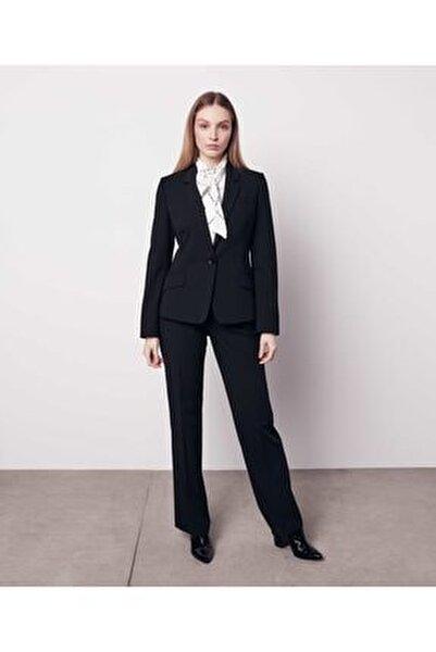 Kadın Siyah Mono Yaka Ceket IW6190005221001