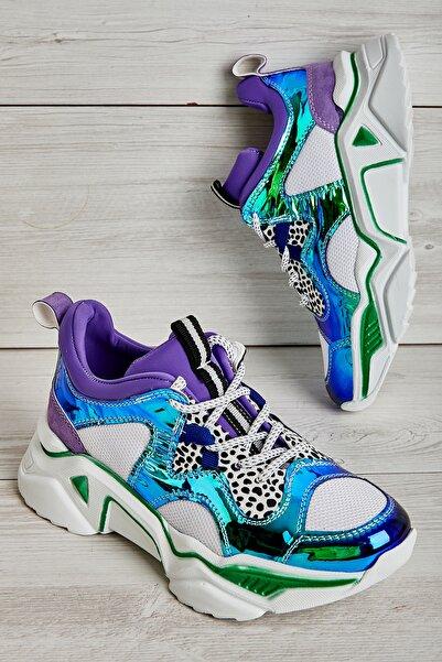 Bambi Mor Kadın Sneaker L05124327