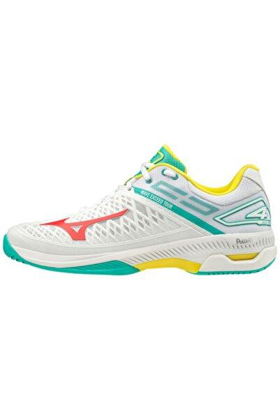 MIZUNO Erkek Beyaz Tenis Ayakkabısı