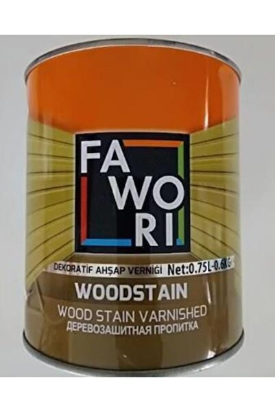 Fawori Wood Stain Vernikli Ahşap Koruyucu 2.5 Lt Naturel