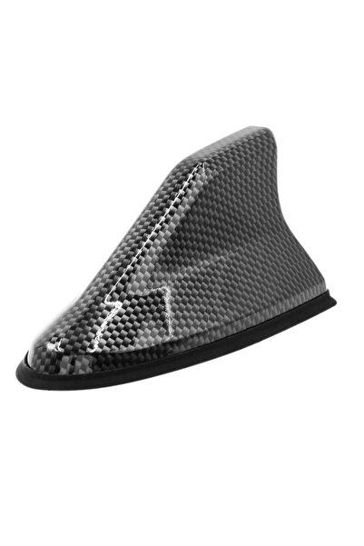 Universal Oto Jaws Anten Elektrikli Silikon Taban Shark Balina Anten Karbon