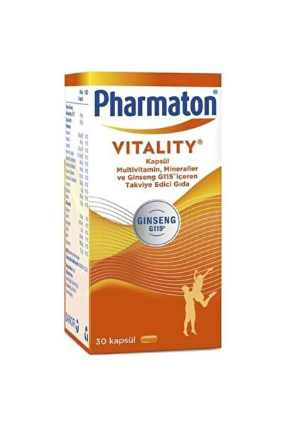 Pharmaton Vitality - 30 Kapsül