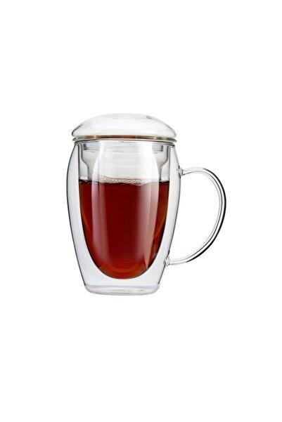 Jumbo Çift Camlı Bitki Çayı Bardağı 280 ml 6762