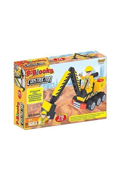 Furkan Toys F-blocks Inşaat Seri 75 Parça
