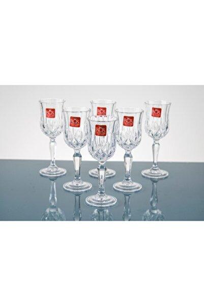 RCR Crystal Rcr Cristallerıa 6'lı Aaklı Kahve Yanı Bardağı