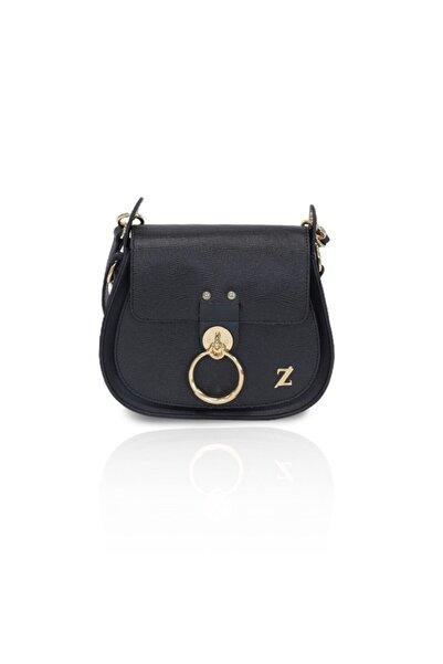 Zühre Kadın Siyah Suni Deri Çanta Z0231